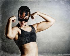 Lady Luchador (Luchadora) by Paul Hillier Photography, via Flickr