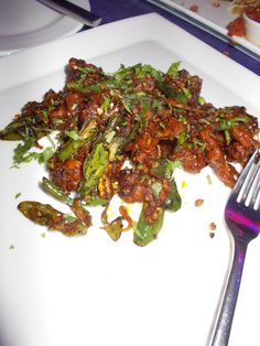 Guntur Chilli Chicken at  PVR BluO, Orion Mall, Bangalore
