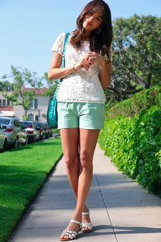 Can't wait to wear my mint shorts now!