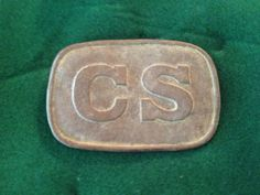 A restored Civil war belt buckle. I'm no expert but my dad sure is! He can fix all you Civil war relics, no matter how bad the condition! Restored by: Leonard Short