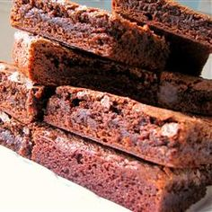 Mmm-Mmm Better Brownies Recipe - using cocoa powder. I made these tonight and they are fantastic.