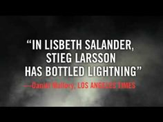 ▶ The Girl Who Played with Fire by Stieg Larsson - YouTube