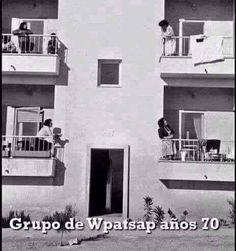 WHATSAPPIANDO EN LOS AÑOS 70'S
