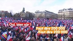 """Trocadéro: """"Faut dire 200.000"""": le directeur de campagne de Fillon oublie que le micro est ouvert (vidéo)"""