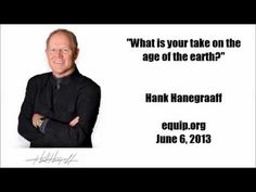 Hank Hanegraaff on Ken Ham and Young Earth Creationism - http://www.christianissuesreport.com/hank-hanegraaff-on-ken-ham-and-young-earth-creationism/