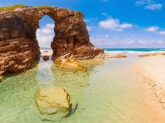 Beach of the Cathedrals, Galicia, Spain