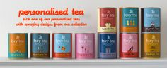 We offer a range of traditional teas with a modern twist and we are enthusiastic about the idea that each one of us can have a personal tea tube! Although it is lovely to see the content of tea packaging, light will damage tea leaves. That's why you won't be able to see our tea bags. They are protected away from light and oxygen.