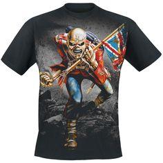 Trooper Eddie (T-Shirt) by Iron Maiden
