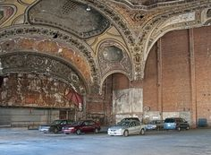 Michigan Theatre, Detroit, USA. Architect: Rapp and Rapp