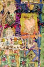 Recycled Going Green! Wall Hangings by Belinda Spiwak - not just for Valentine's Day.