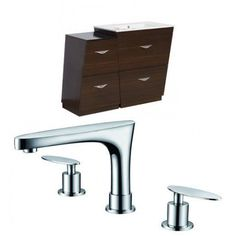 American Imaginations Vee 43.5'' Single Bathroom Vanity Set