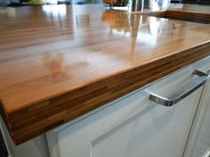 Shop Q Solutions Company 6-ft Bamboo Countertop at Lowe\'s Canada ...