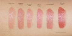 The Beauty Look Book: Charlotte Tilbury K.I.S.S.I.N.G Lipsticks and Lip Lustres - Neutral Lip Perfection