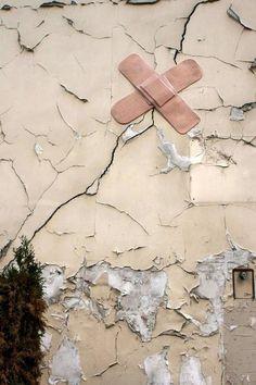 Best Street Art in 2012  ** My Casual **  >  Street Art    Jim - Pansement - Rue Jean-Baptiste Dumay