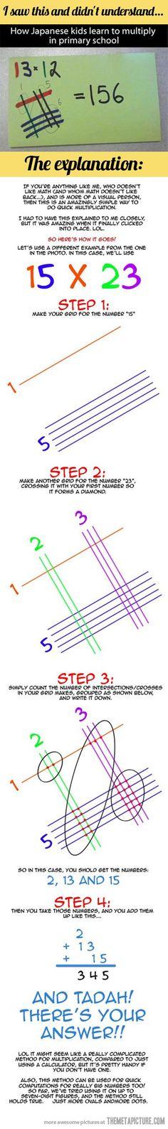 multiplication.... Awesomeness