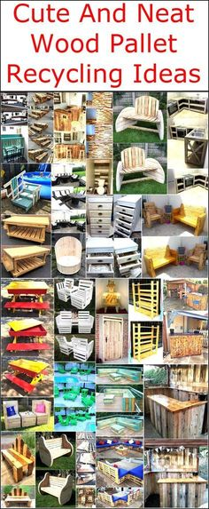 The materials that need to be used again should be neat if someone wants to get a smooth product like the furniture, so pallets is the best option if the person just needs used material for modifying because they don't just provide the products with the smooth surface; but are inexpensive also. If you are one those who don't get an idea from the mind, you can see the wood pallet recycling ideas here and copy them to show your skills and to have impressive items in the home.