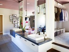 The bathroom design experts at HGTV.com share how to create a luxurious bathroom retreat with high-end showers, baths, tile and bathroom hardware.