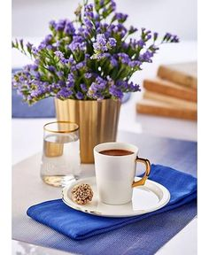 ☆Coffee and flowers <3