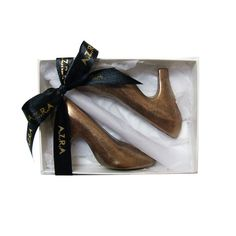 Unique Gift ideas for Christmas. These small dark chocolate shoes will make nice small Christmas gifts or stocking filler this Christmas. www.azrachocolates.co.uk
