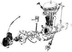 bmw r1200gs engine diagram engines pinterest the. Black Bedroom Furniture Sets. Home Design Ideas
