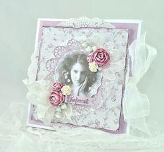 Cathrines hjerte Frame, Cards, Handmade, Vintage, Home Decor, Picture Frame, Hand Made, Frames, A Frame