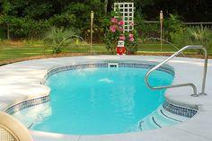 Aloha Fiberglass Pool Bellagio Model Beautiful Pools Pinterest Fiberglass Pools
