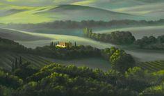 пейзажи художника Michael Swanson -15