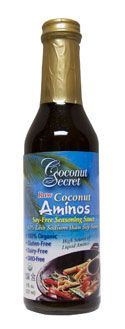 Coconut Secret Raw Coconut Aminos - great SOY FREE substitute for soy sauce!!! :)