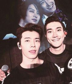 Donghae and Siwon + Heechul and Zhoumi