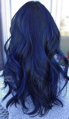 Haarfarbe schwarz lila schimmer