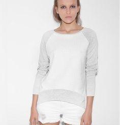 Generation Love White and Gray Sweater #GuysNGals #Styleshack #generationlove