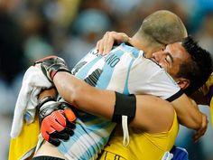 Copa del Mundo 2014   ¿Qué le dijo Mascherano a Romero antes de los penales? - Ovación   diariouno.com.ar
