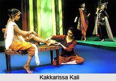 Kakkarissa Kali is a traditional Malayalam drama form of southern Kerala. For more information visit: #Drama #Theatre #Entertainment