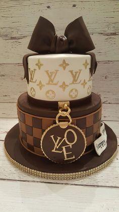 Louis Vuitton cake - Special Cake - birthday cake number cakes unicorn cake layer cake custom cake themed cakes my confectioners cake u - 14th Birthday Cakes, Sweet 16 Birthday Cake, Elegant Birthday Cakes, Beautiful Birthday Cakes, Birthday Cakes For Women, Beautiful Cakes, Amazing Cakes, Designer Birthday Cakes, Chanel Birthday Cake
