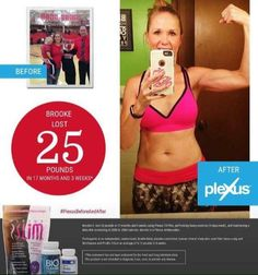"""Love the results from and reasoning behind fellow ambassador Brooke's plexus journey:   """"My plexus journey was never about weight loss. It was about wellness & energy & being more patient & less irritable & nervous as a mama. When the inside gets healthy, it reflects on the outside.""""  You ready yet? Lets talk!"""