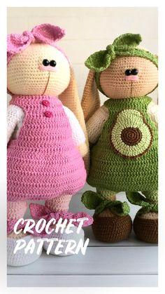 Crochet pattern outfit