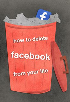 Becoming Facebook-free requires more steps than just hitting the delete button. Follow this step-by-step guide to completely delete Facebook from your life.