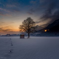 Evening Mood in the tyrolean alps. A cold night will follow.  Pls also visit and if you like to follow,... :) https://www.facebook.com/TorstenMuehlbacherFotografie/