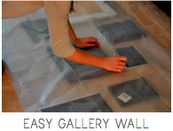 Ever tried hanging a gallery wall? This will help! Such a good IDEA!