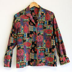Plus Size Vintage, Vintage Shirts, Size 14, Blazer, Patterns, Trending Outfits, Elegant, Jackets, Etsy