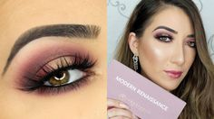 Cranberry Halo Smokey Eye | Anastasia Beverly Hills Modern Renaissance P...