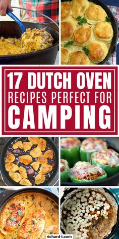 17 Dutch Oven Camping Recipes For Your Next Trip - 17 Genius dutch oven camping recipes! Make sure to try these AMAZING dutch oven recipes on your next camping trip! 17 Dutch Oven Camping Recipes For Your Next Trip Dutch Oven Lasagna, Dutch Oven Chicken, Oven Cooking, Cooking Recipes, Camping Cooking, Camping Tips, Cadac Recipes, Best Camping Recipes, Camp Fire Cooking