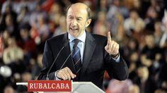 Alfredo Pérez Rubalcaba marca distancias con la estrategia de Patxi López. Más allá de sus diferencias, les une el objetivo de desactivar a Pedro Sánchez.