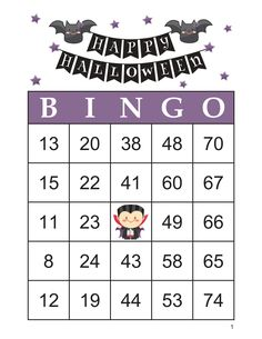 Halloween Bingo Cards, 1000 cards, 1 per page, immediate pdf download Halloween Bingo Cards, Custom Bingo Cards, Bingo Calls, Bingo Patterns, Email Programs, Adult Games, Black And White Design, I Am Game, Print And Cut