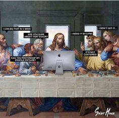 Cuando los jefes y responsables creen que la creatividad es apretar algunos botones del photoshop y punto ¿Os suena? ;-)