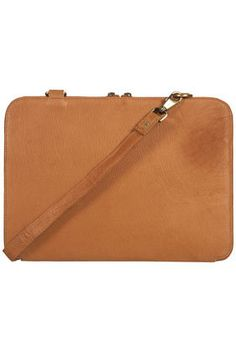 Leather Laptop Case - Laptop Cases - Bags. I think this is an old bag from Top Shop for $100.00. Wish it were still available. Maybe I can find it online somewhere. I really like it and it is a reasonable price compared to others I have seen.