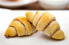 That pricey coffee chain doesn't need your hard-earned money! Make your own baked goods with crescent rolls, cream cheese spread and chopped nuts.