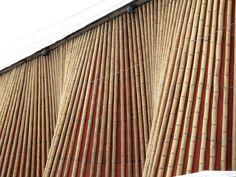Museo Nómada. Construcción con bambú