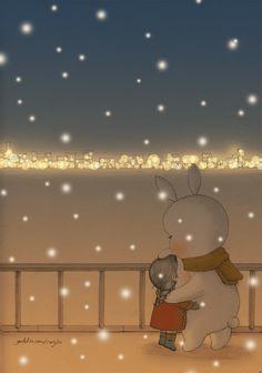 Cute Disney Drawings, Cute Drawings, Little Girl Illustrations, Cute Kawaii Girl, Pix Art, Cartoon Girl Images, Beautiful Gif, Cute Cartoon Wallpapers, Anime Scenery