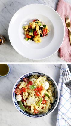 Pasta Recipes, Salad Recipes, Diet Recipes, Vegan Recipes, Cooking Recipes, Snack Recipes, Food N, Diy Food, Food And Drink